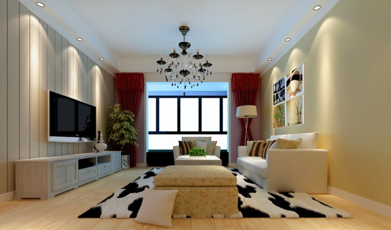 Modern Living Room Ideas Red