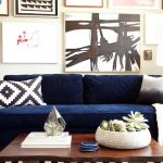 Navy Living Room Furniture