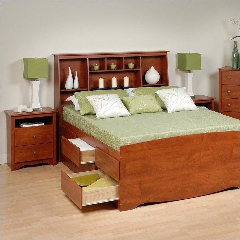 Image of: New Bed Frame Storage
