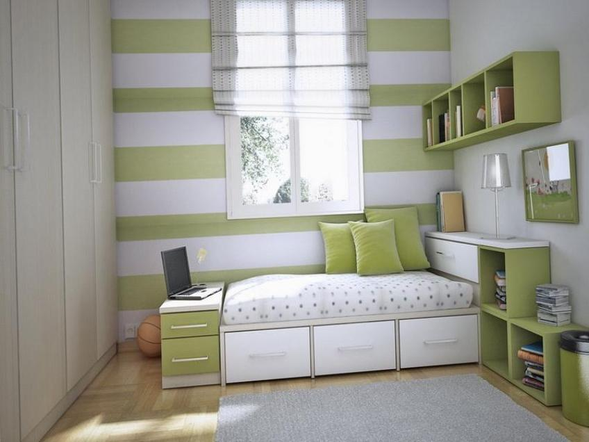 Image of: New Small Bedroom Storage Ideas