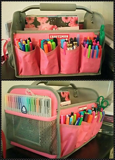 Nice Art Supply Storage Ideas