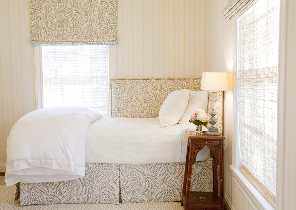 Image of: Patterned Bed Skirt Set Curtain