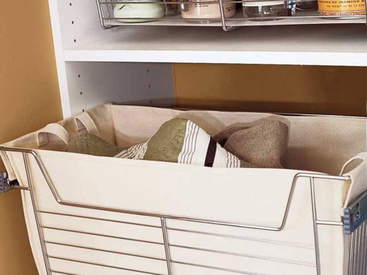 Image of: Perfect Blanket Storage Ideas