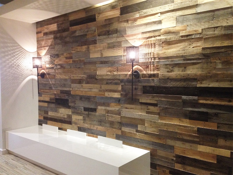 Image of: Perfect Rustic Wood Paneling for Walls