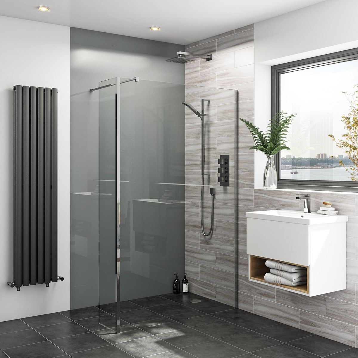 Image of: Perfect Shower Wall Panels