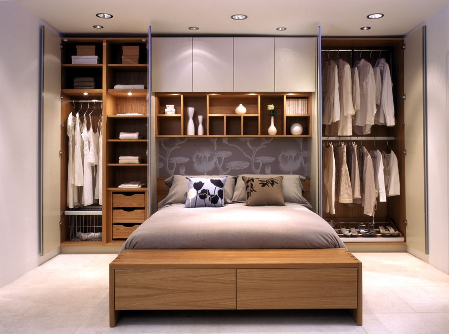 Image of: Perfect Small Bedroom Storage Ideas