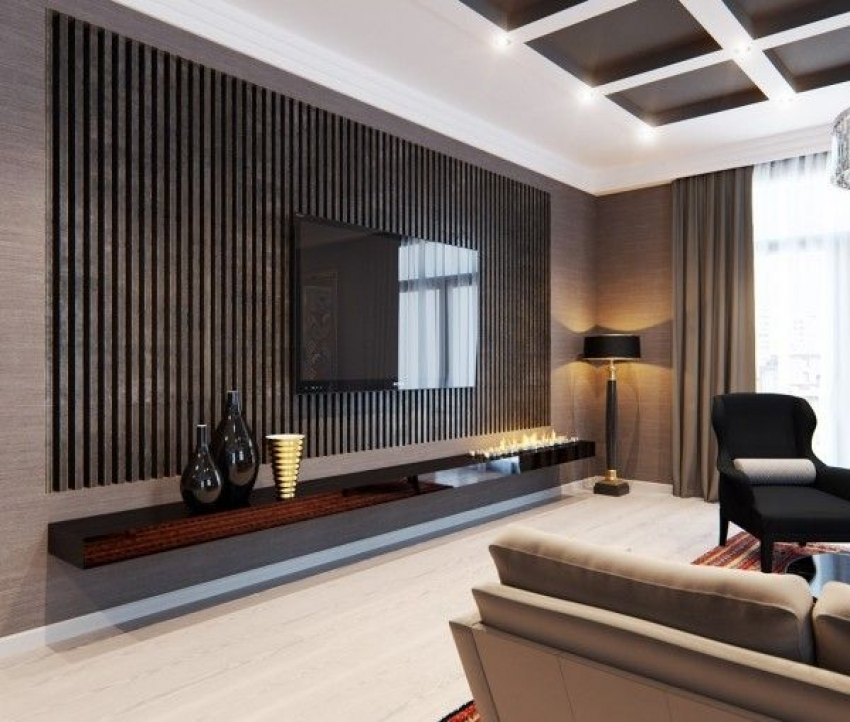 Image of: Perfect TV Wall Panel