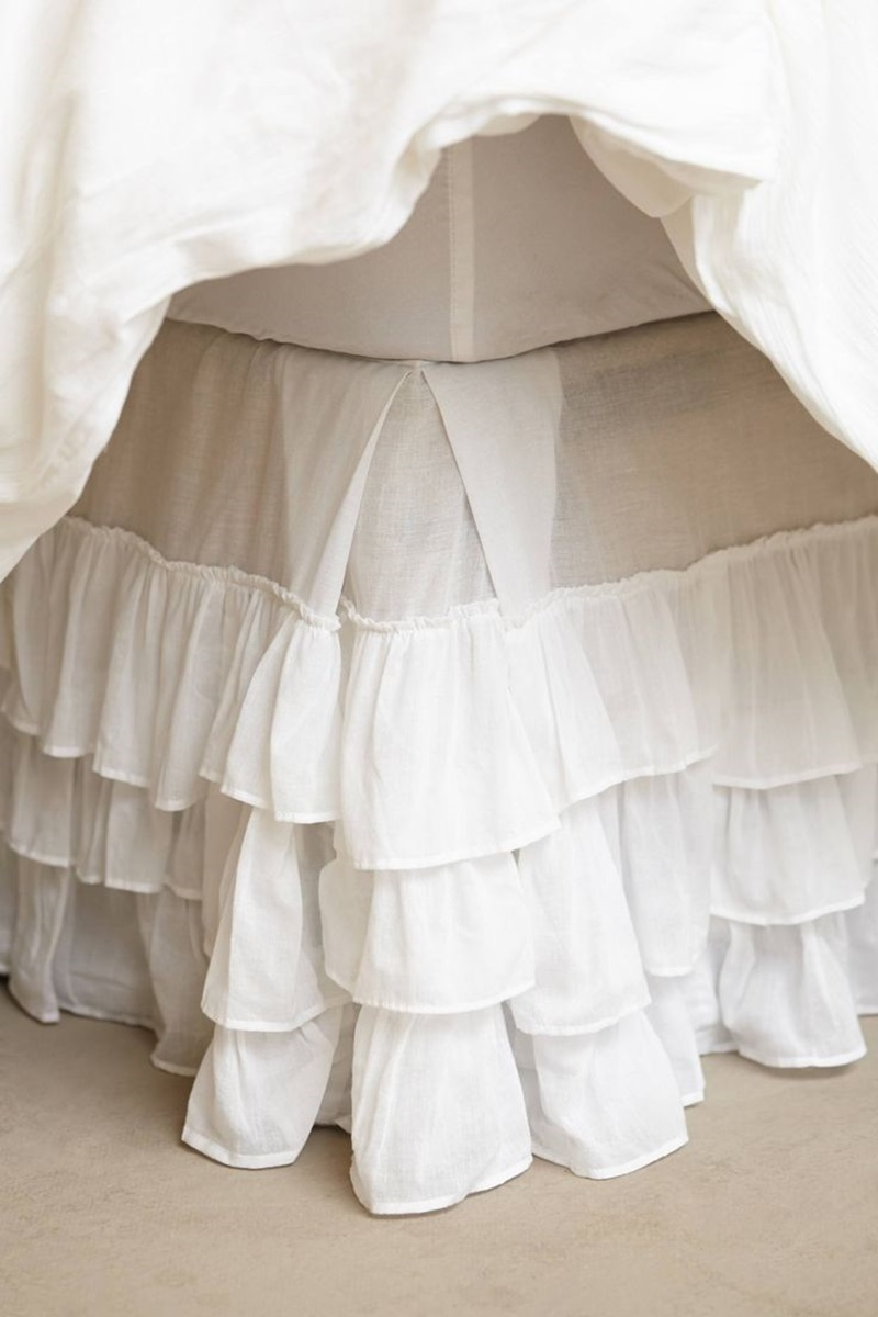 Image of: Picture Bed Skirt Alternatives