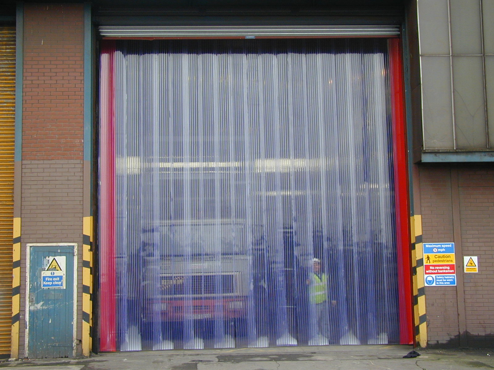 Image of: Plastic Curtain Awesome