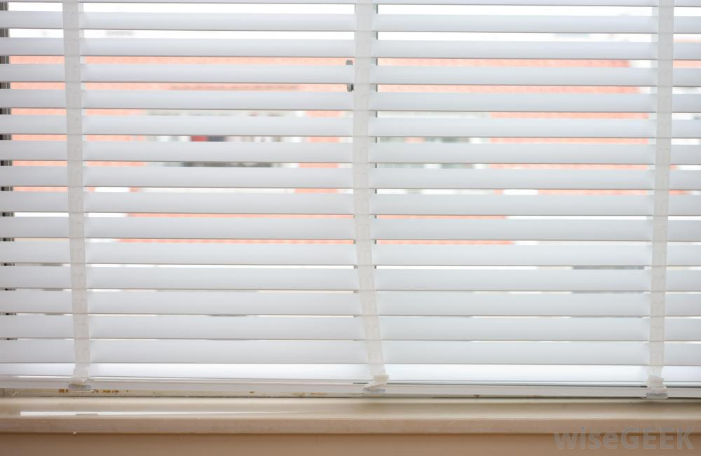 Image of: Plastic Curtain Blinds