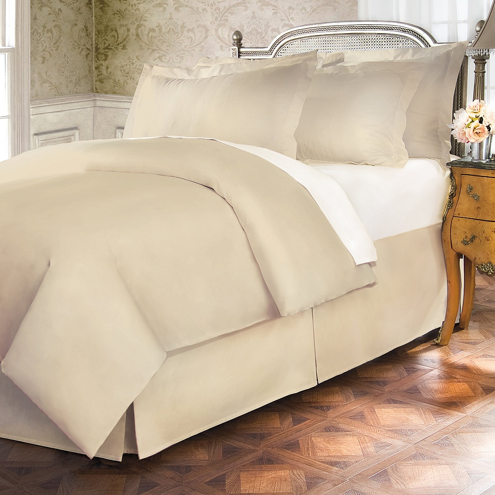 Image of: Popular Tailored Bed Skirt