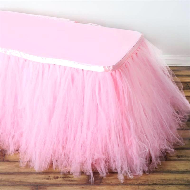 Image of: Popular Tulle Bed Skirt