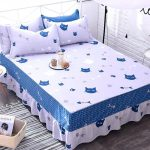 Printed Patterned Bed Skirt