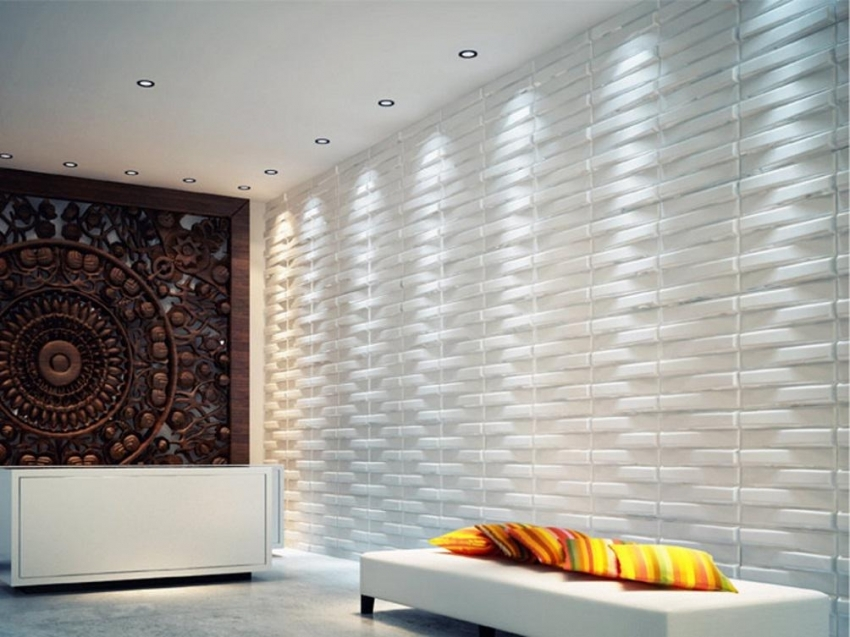 Image of: Pvc Wall Panels Design