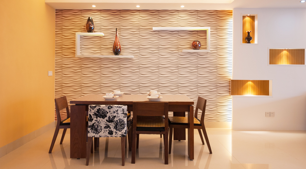 Image of: Pvc Wall Panels Dining