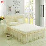 Quilted Bed Skirt Lace