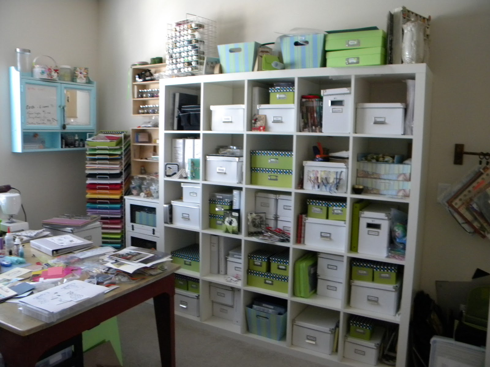 Image of: Recollection Craft Room Storage Ideas