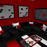 Red Living Room Ideas Fashion