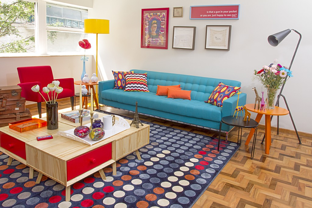 Image of: Retro Living Room Funky