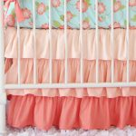 Ruffle Coral Bed Skirt