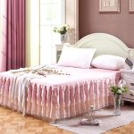 Ruffle Patterned Bed Skirt