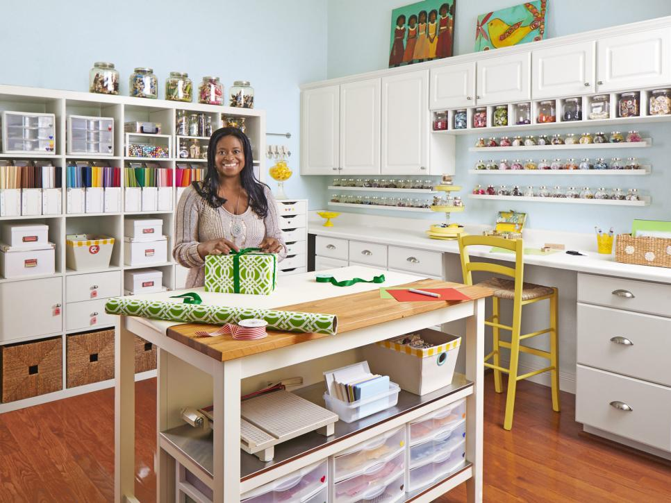 Image of: Sewing Craft Room Storage Ideas
