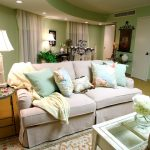 Shabby Chic Living Room Green