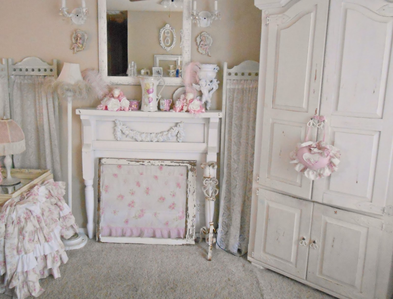 Image of: Shabby Chic Living Room Ideas