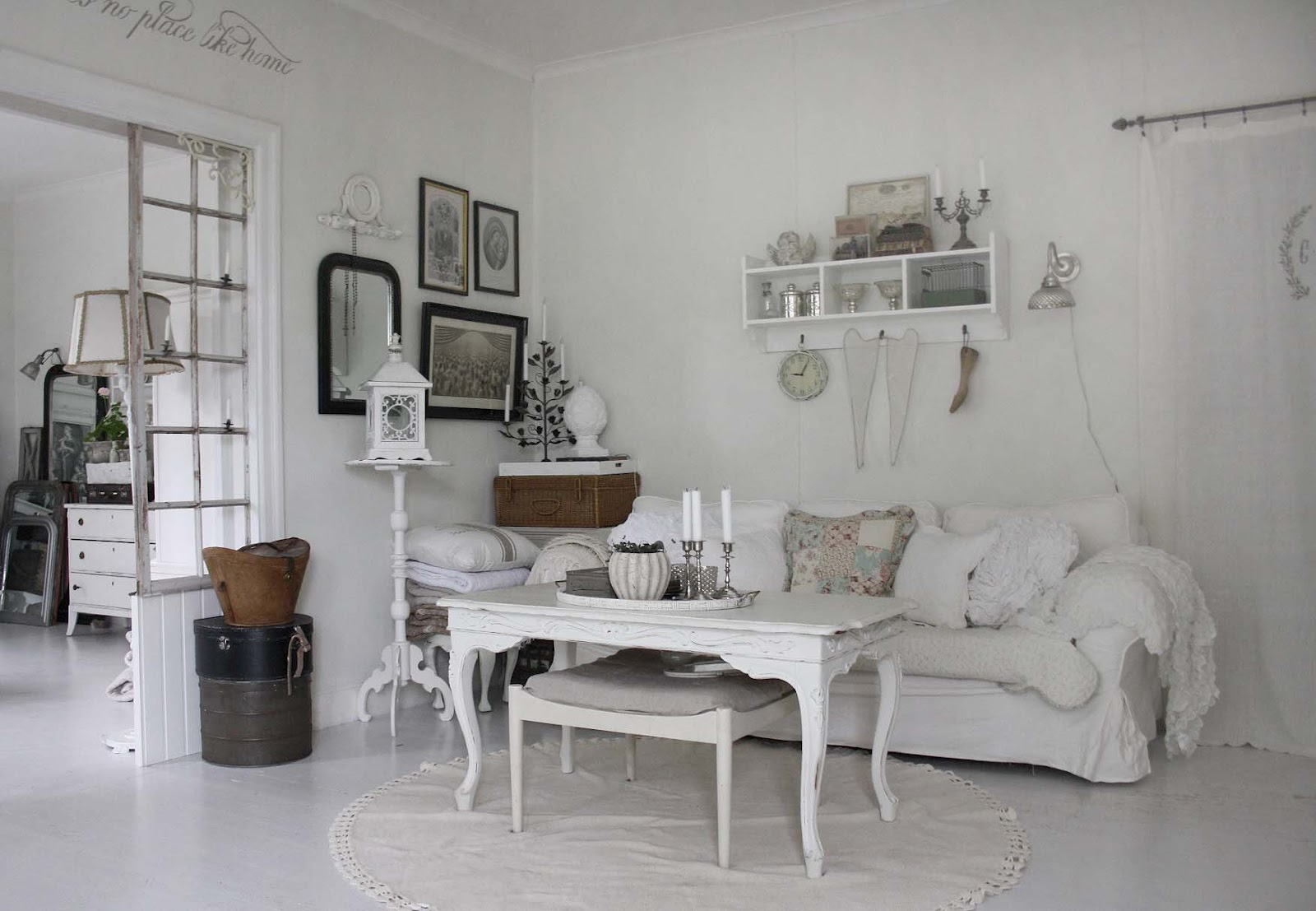 Image of: Shabby Chic Living Room Small