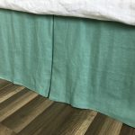 Shades of Green Bed Skirt