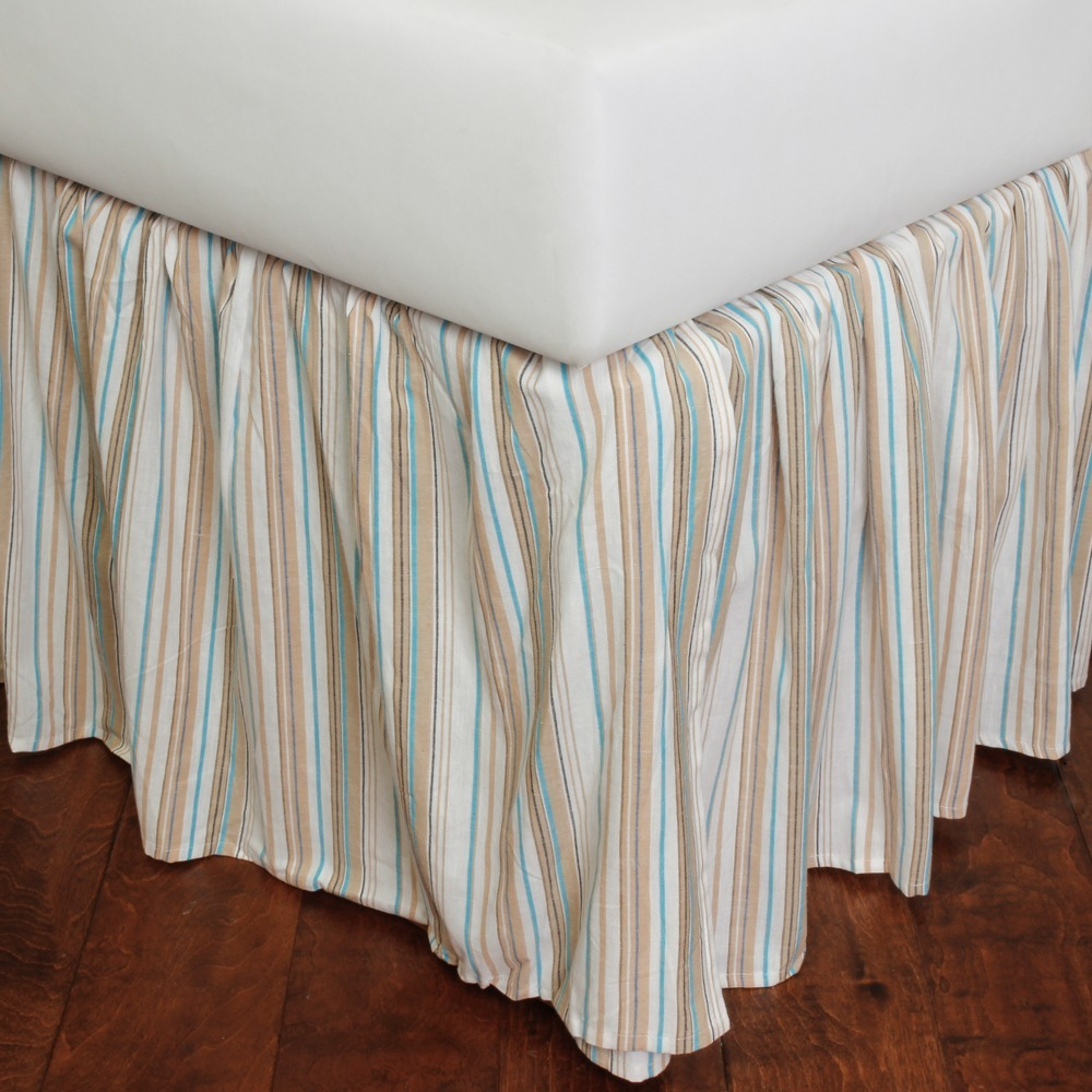 Image of: Shop Striped Bed Skirt