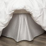 Silk Patterned Bed Skirt