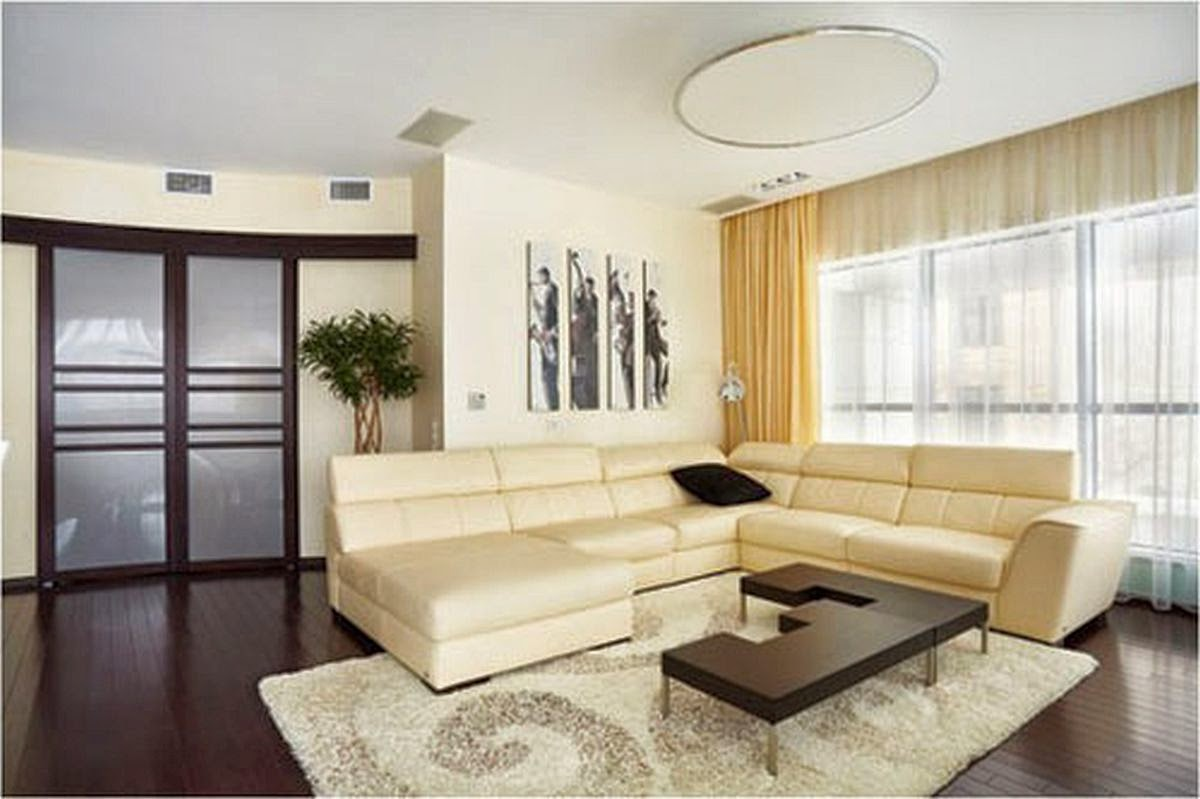 Image of: Simple Living Room Ideas Yellow