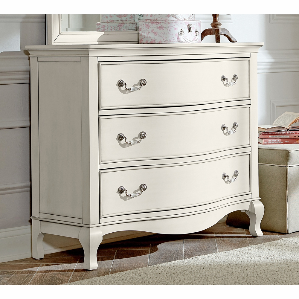 Image of: Small Antique White Dresser
