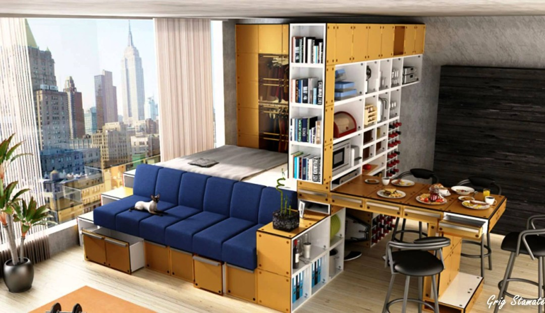 Image of: Small Apartment Storage Ideas Tidy