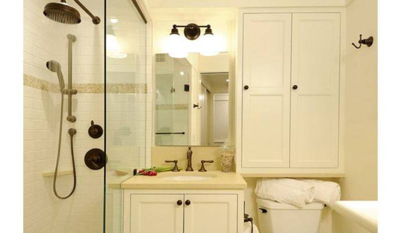 Image of: Small Bathroom Storage Ideas On A Budget