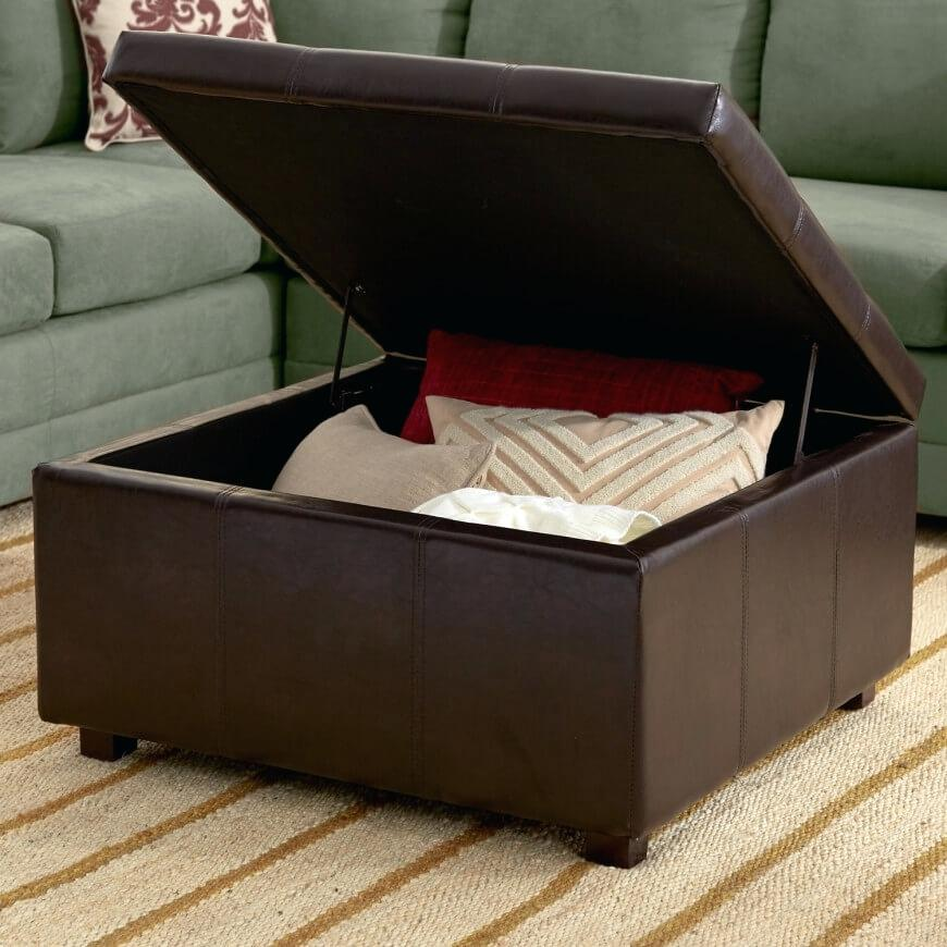 Image of: Small Blanket Storage Ideas