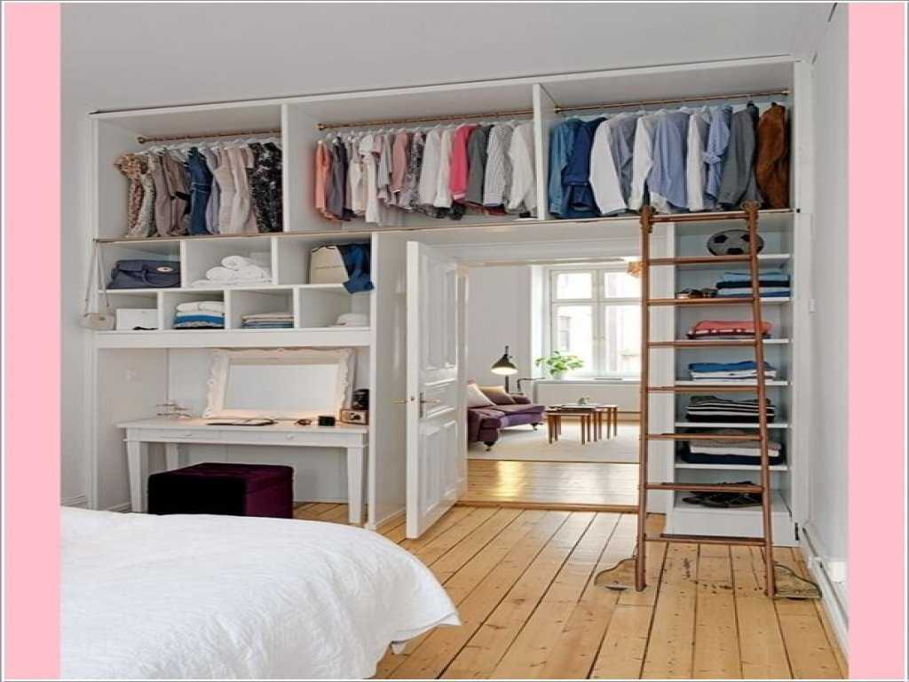 Image of: Small Clothes Storage Ideas