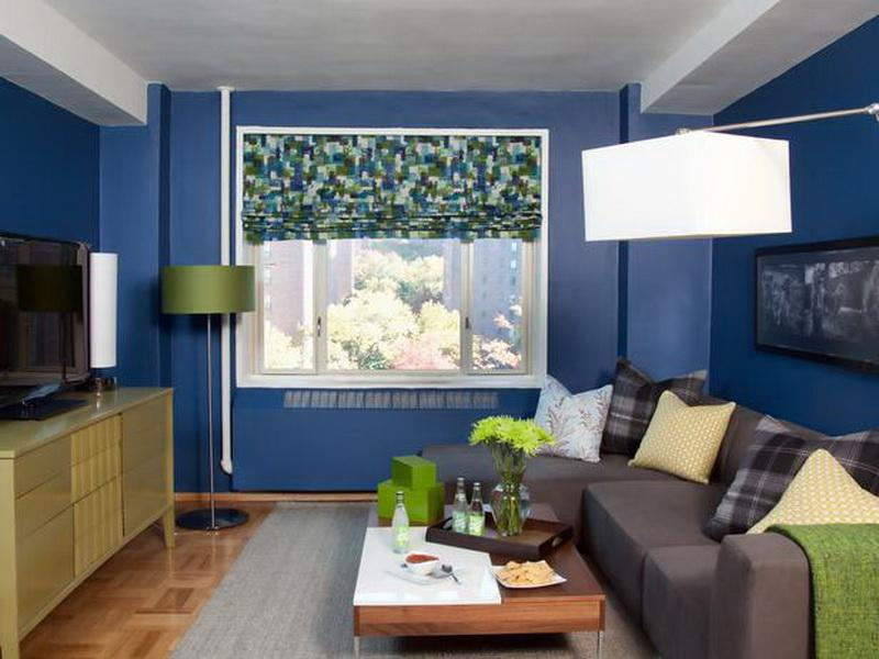 Image of: Small Living Room Decorating Ideas Blue