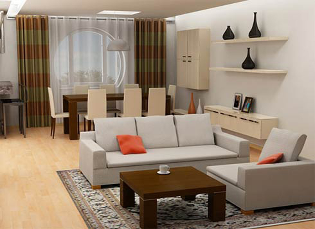 Image of: Small Living Room Design Ideas