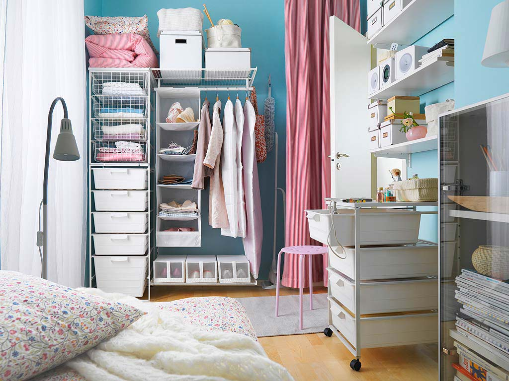 Image of: Smart Clothes Storage Ideas