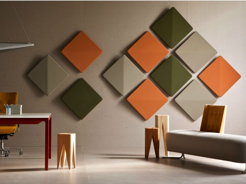 Image of: Soundproof Wall Panels Decorative