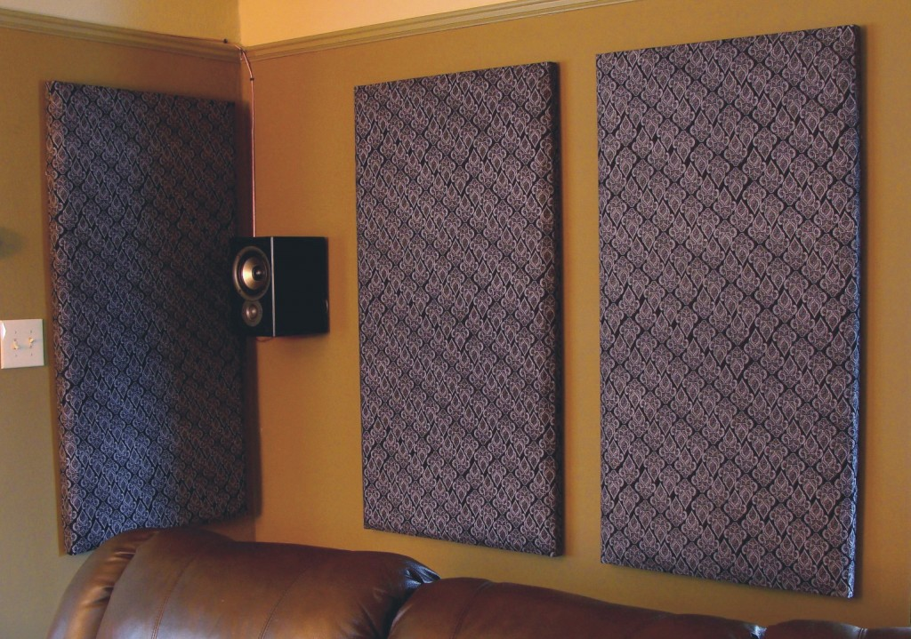 Image of: Soundproof wall panels DIY