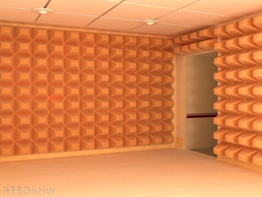 Image of: Soundproof wall panels Storage