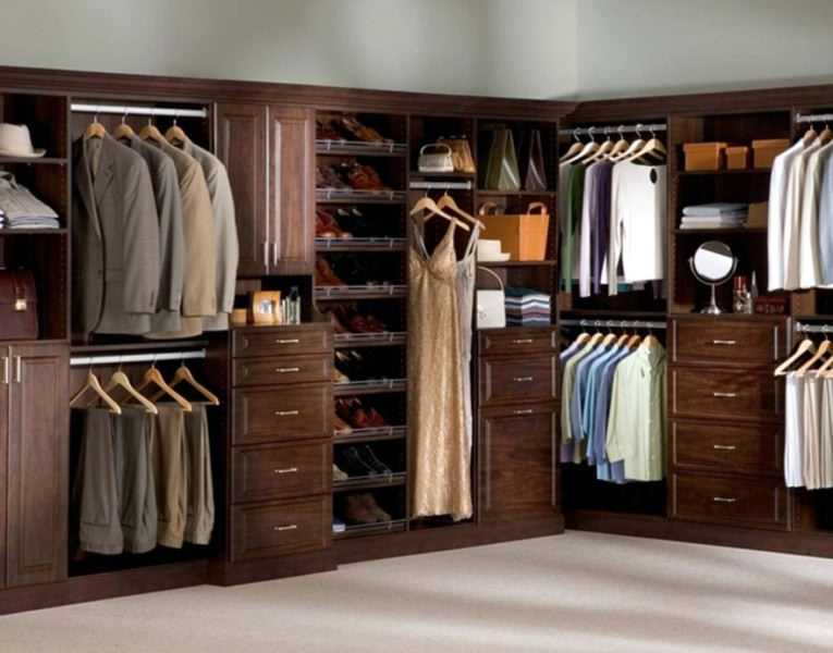 Image of: Storage Ideas For Small Closet