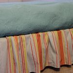 Striped Bed Skirts Dust Ruffles