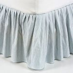Striped Bed Skirts Queen