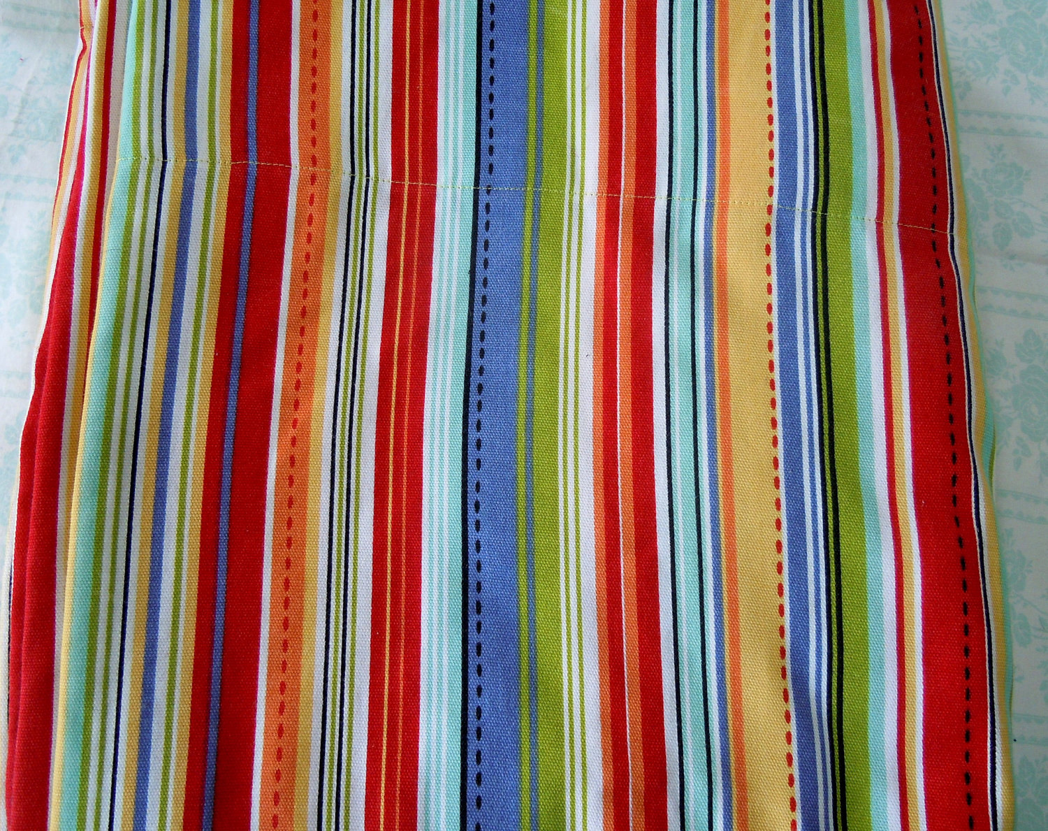Image of: Striped Shower Curtain Colorful