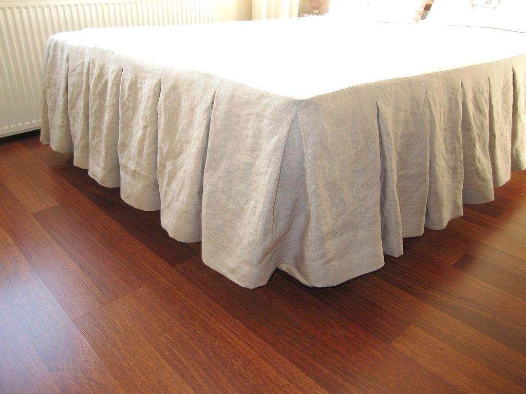 Image of: Target Bed Skirt Pins