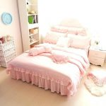 Teen Coral Bed Skirt